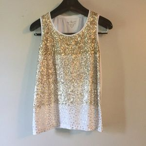 3 for $25. Chico's sequin tank top. Size 1. Small.